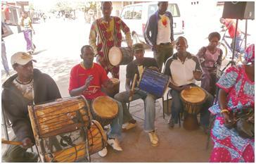 Ορχήστρα στο Μάλι