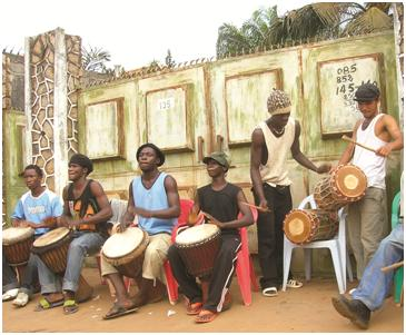Ορχήστρα στη Γουινέα